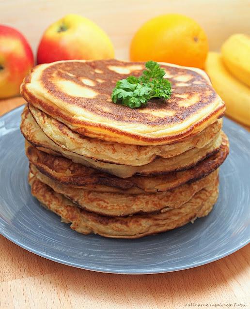 Pancakes na kefirze
