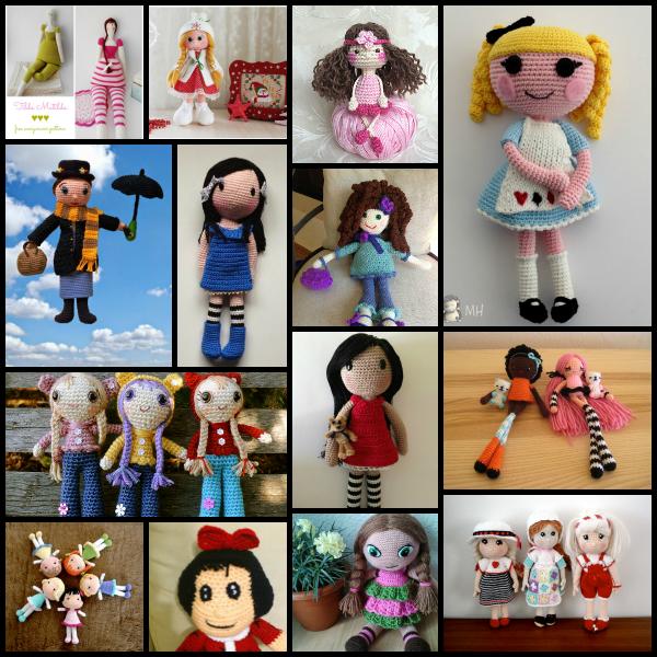 Muñecas a crochet | Manualidades