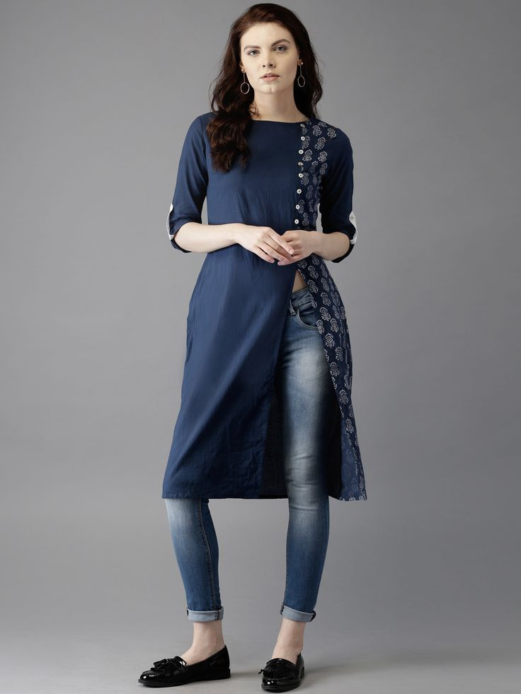 15 Beautiful And Stylish Kurtis for Jeans In India | Styles At Life
