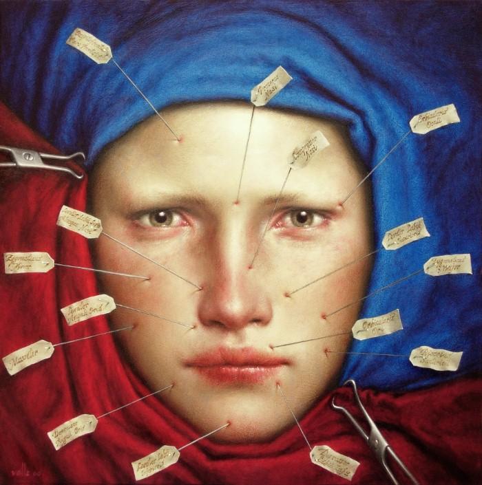 Сюрреалистические картины. Dino Valls 13