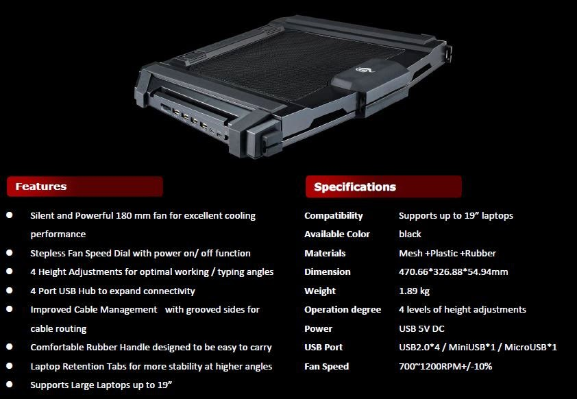 Cooler Master SF-17 and SF-15: Full Force Cooling for Laptop Gaming 3