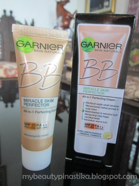 Pinastika Beauty Blog ♔: Review : BB Cream Garnier