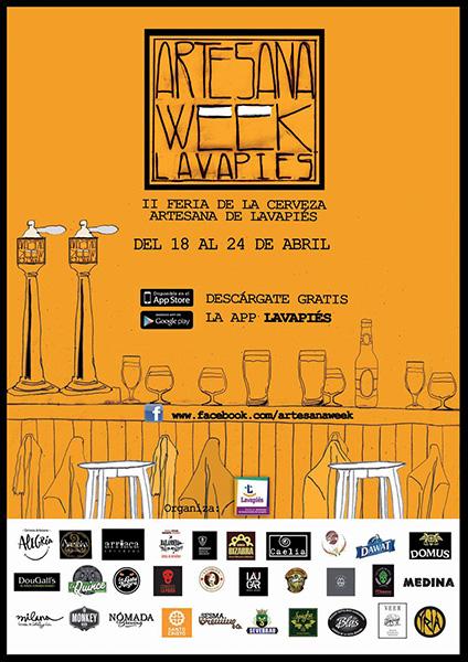 Vuelve #ArtesanaWeek Lavapiés, del 18 al 24 de abril de 2016