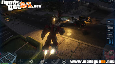 Mod Iron Man para GTA V PC