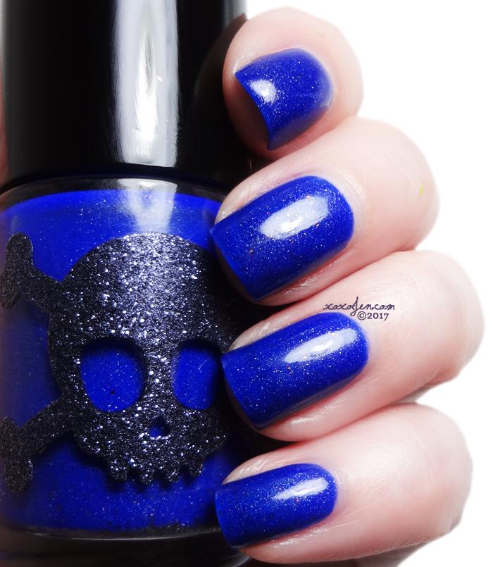 xoxoJen's swatch of Necessary Evil Midnight Constellation