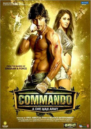 Commando 2013 Full Bollywood Hindi Movie Download DVDRip 720p