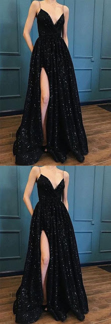 sexy-a-line-black-long-prom