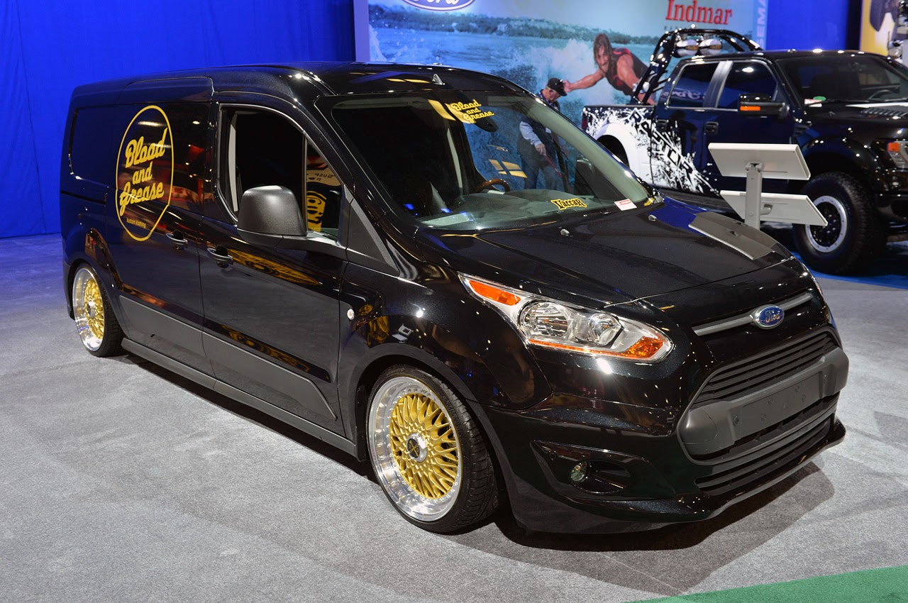 automotiveblogz ford transit connect customs sema 2013. Black Bedroom Furniture Sets. Home Design Ideas