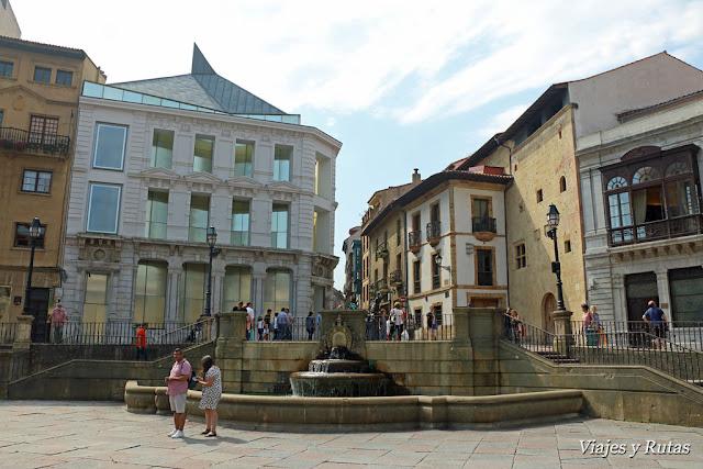 plaza de Alfonso II el Casto Oviedo