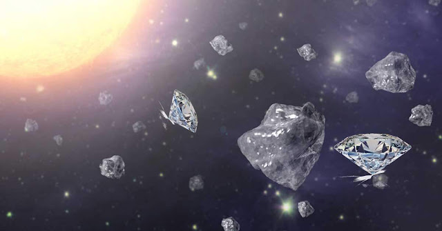 Diamonds Can Form in Outer Space and Fall to Earth
