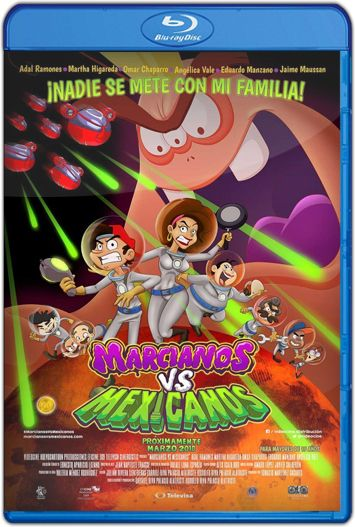 Marcianos vs Mexicanos (2018) HD 1080p y 720p Latino
