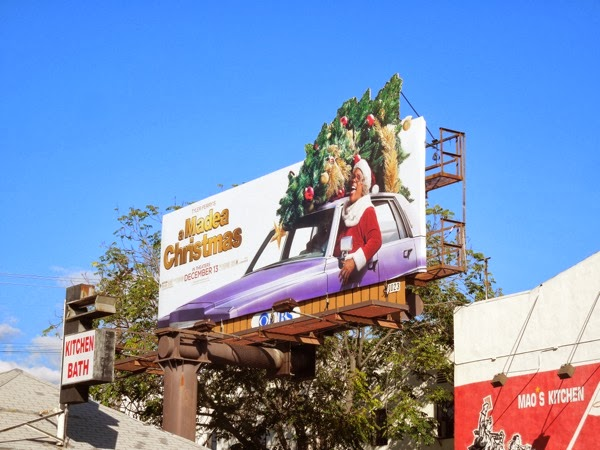 A Madea Christmas special extension billboard