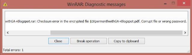 cara memperbaiki file rar yang corrupt