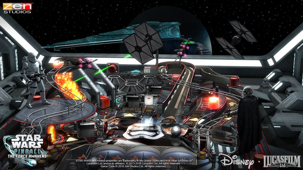 star wars pinball the force awakens