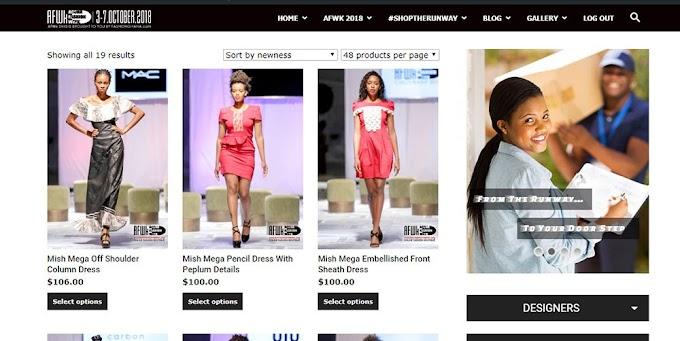 Accra Fashion Week to launch first runway boutique online #SHOPTHERUNWAY