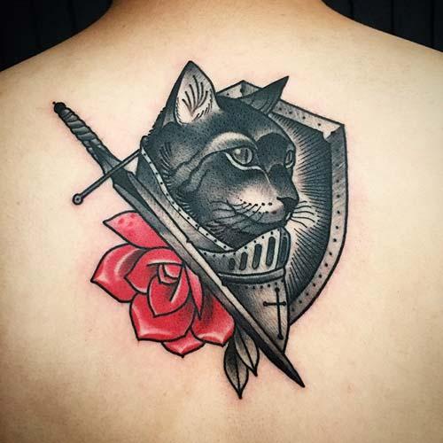 kedi dövmeleri cat tattoos 52