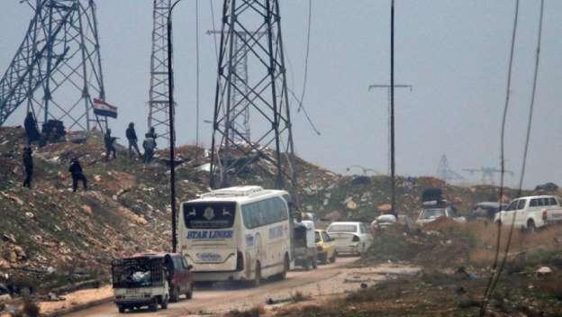 Evacuação de Aleppo possibilita retirada de mais 1200 pessoas