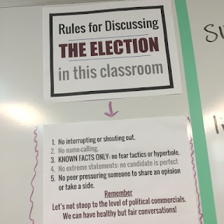 Elections are hard enough to teach about, but they become even more challenging to address when the election and its media coverage starts getting out of control. There are ways that you can safely discuss the election and make your classroom a safe place to reasonably examine all candidates and issues. Learn more in this post.