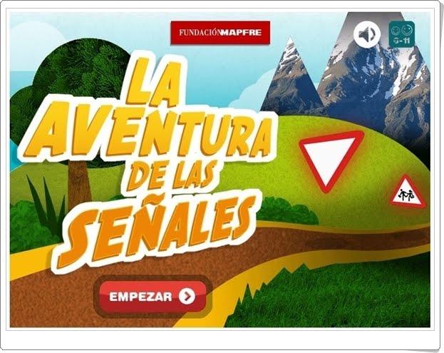 """""""La aventura de las señales"""" (Juego de Educación Vial de Primaria)"""