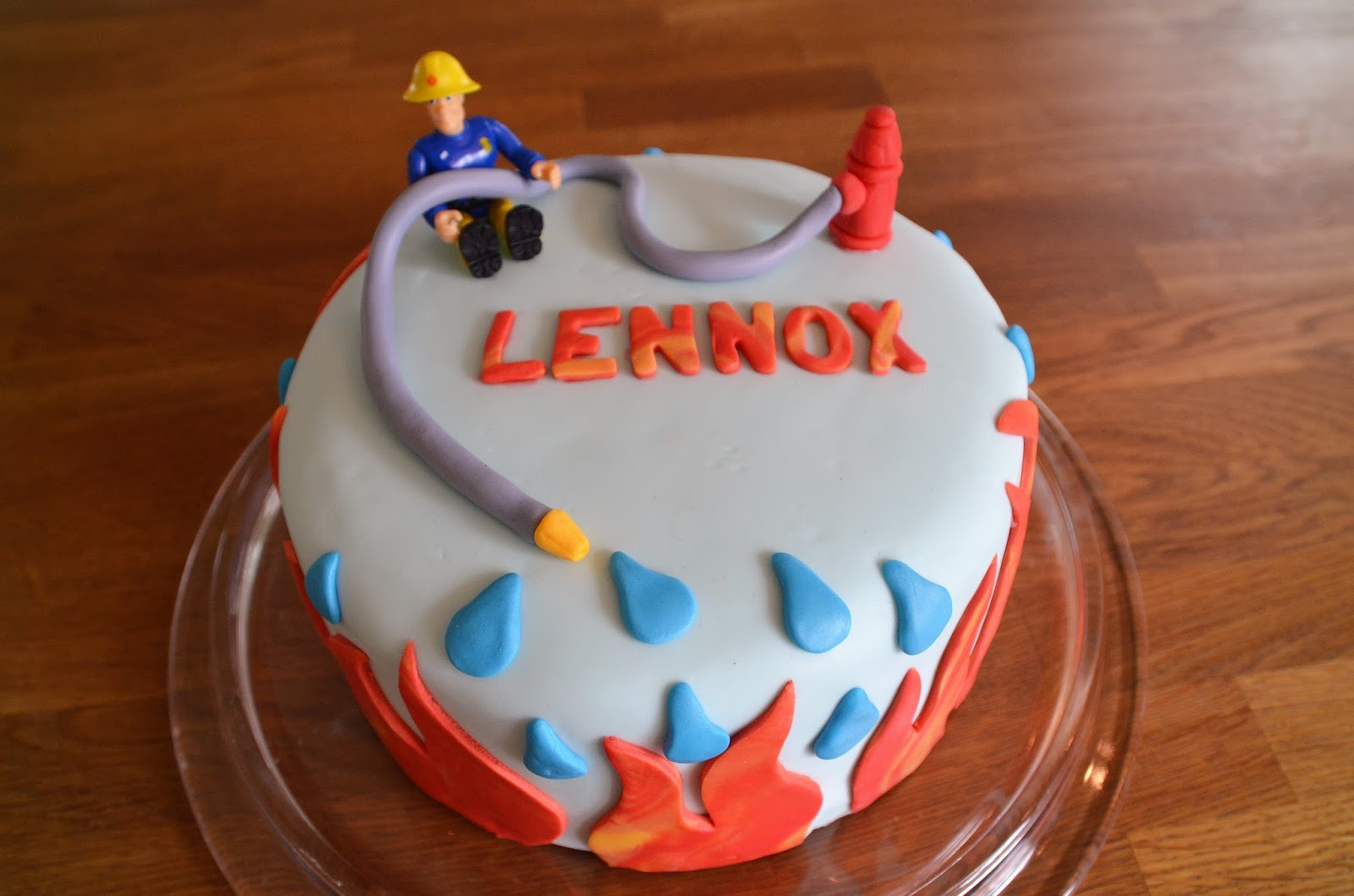 Feuerwehrmann Sam Kuchen Geburtstag