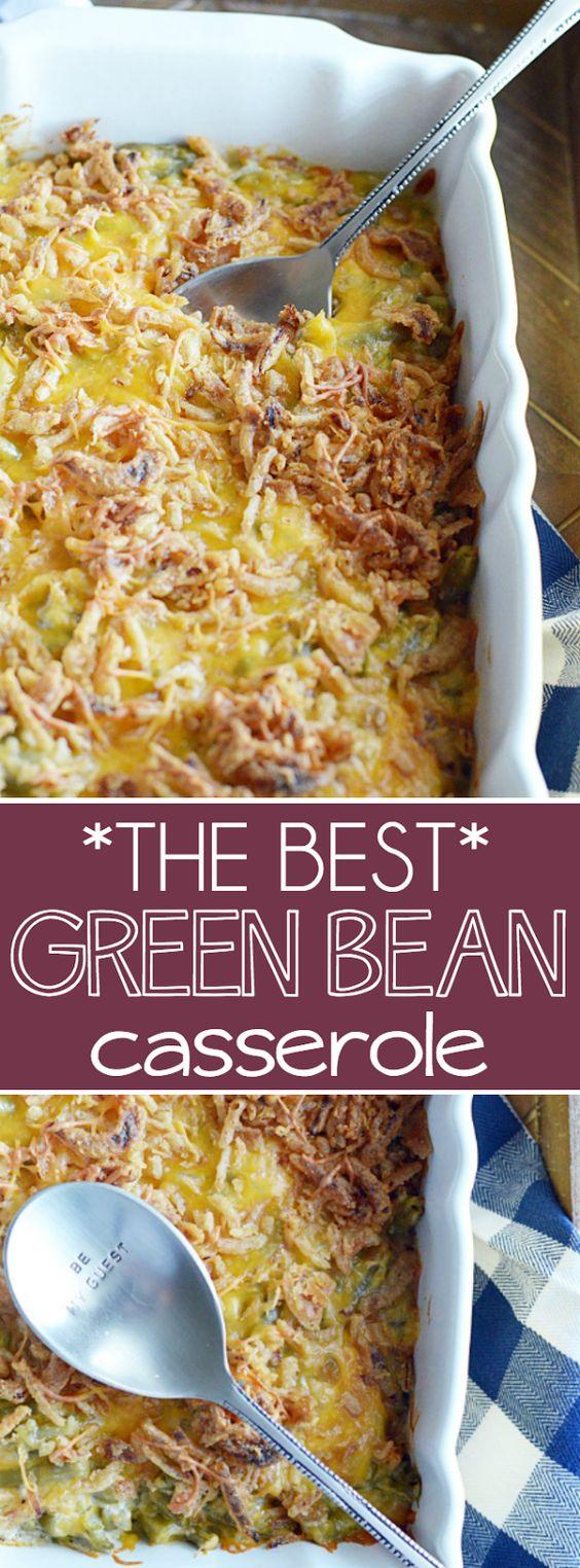 The Best Green Bean Casserole