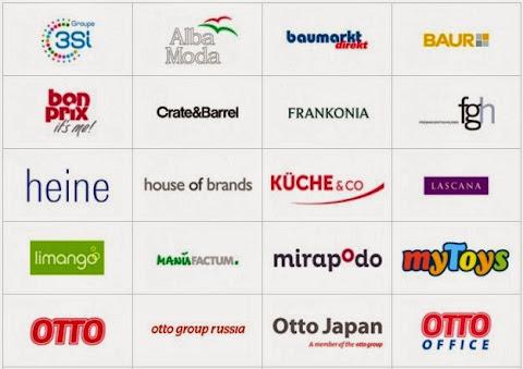 圖說: OTTO Group 集團電商多通路的部分子公司,圖片來源: OTTO 官網