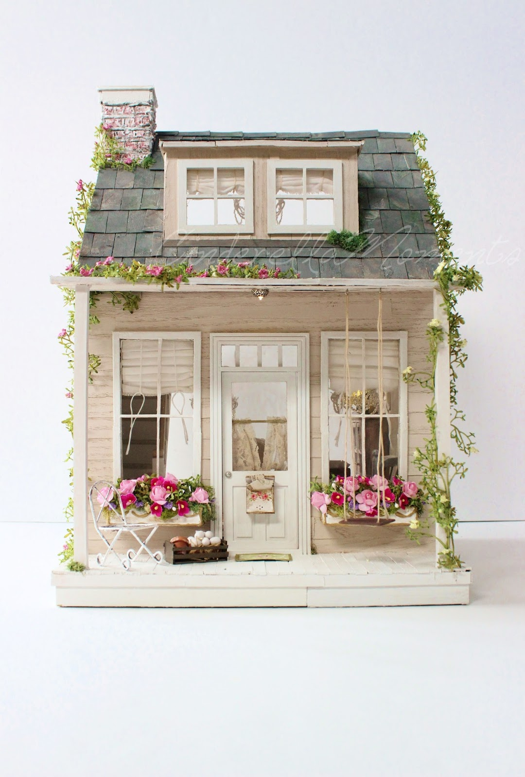 Cinderella Moments The Old Country House Custom Dollhouse