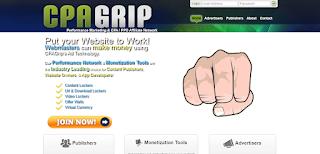 موقع CPAGrip من افضل مواقع CPA