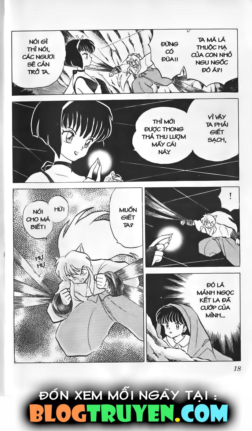 Inuyasha vol 02.1 trang 16
