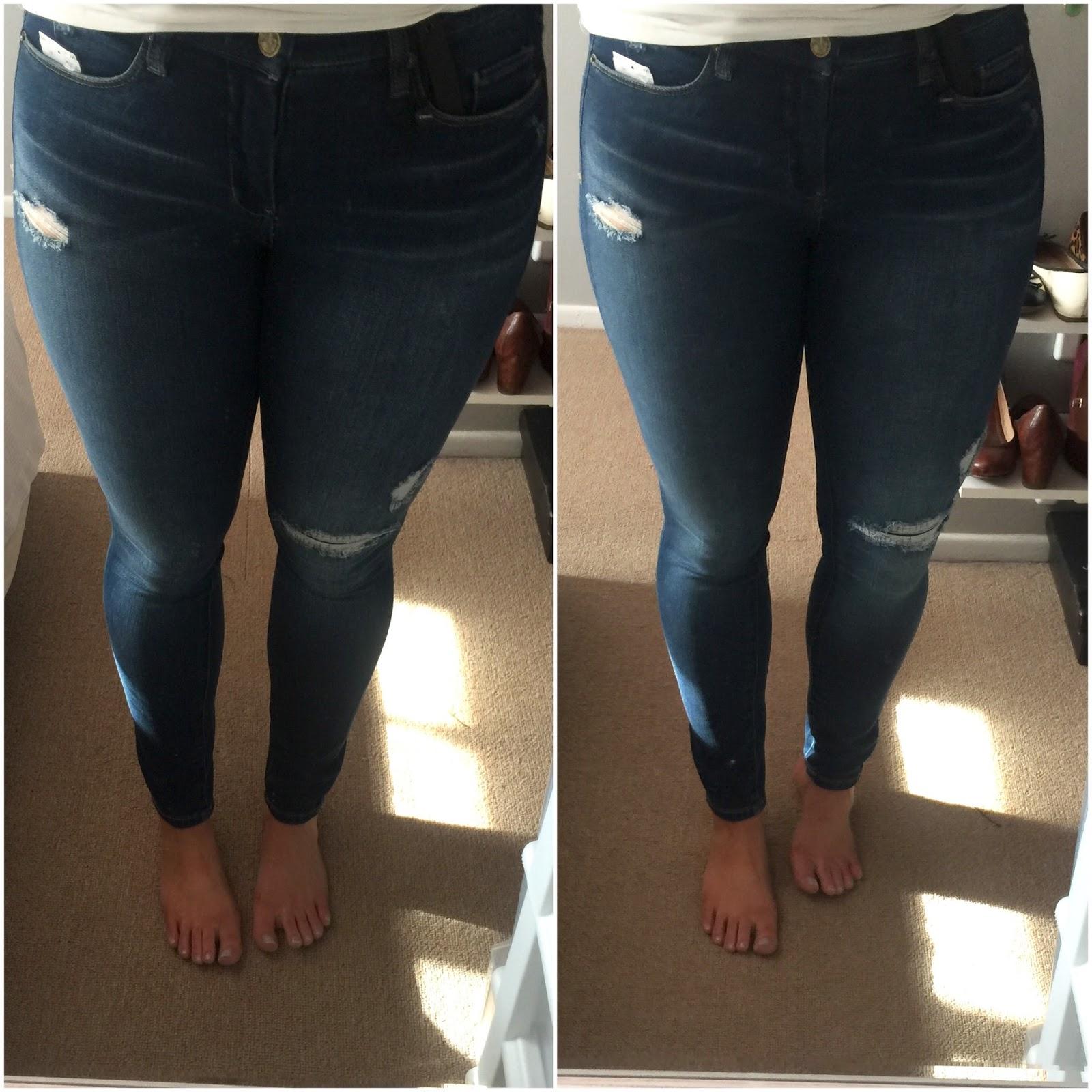BLANKNYC 'Hotel' Distressed Skinny Jeans