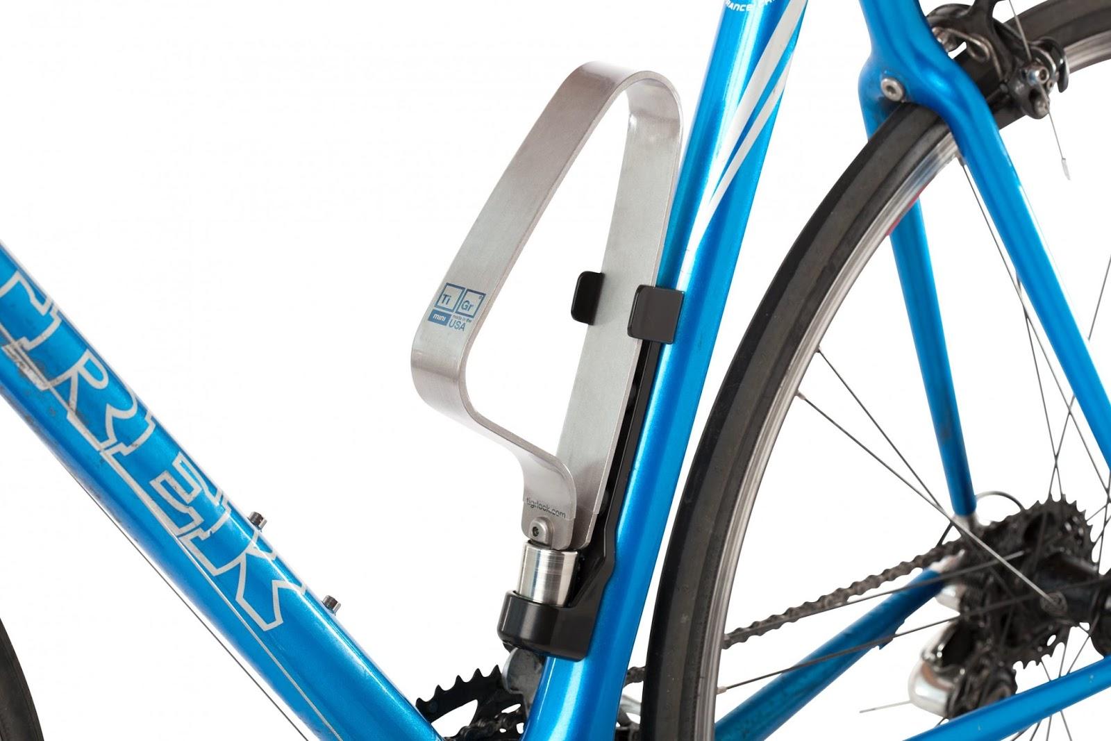 Kent's Bike Blog: Review: TiGr mini Bike Lock
