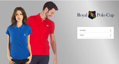 polos baratos para hombre y mujer de marca Royal Polo Cup