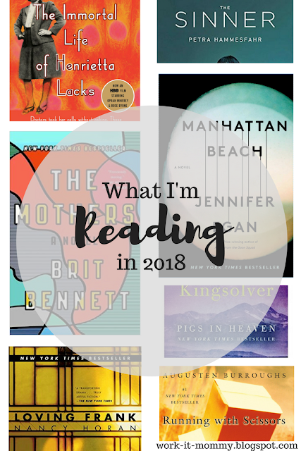 That Book Life // Reading Plans for 2018 Blogger Whitney of Work it Mommy blog is sharing her personal reading goals for 2018
