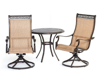 Hanover Manor 3 Pc Bistro Set