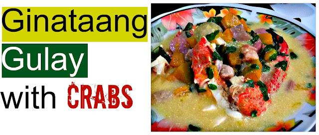 Ginataang Gulay with Crabs