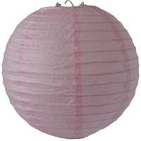 Ideal For Breast Cancer Charity Events, Pink Paper Lantern.