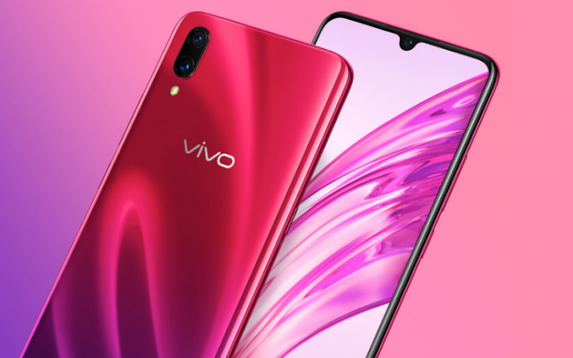 Vivo X23 specs show up on a spilled introduction slide