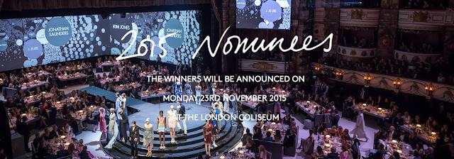 2015 British Fashion Awards Nominees
