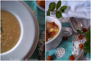 Sopa de huevo & Sopa de picadillo