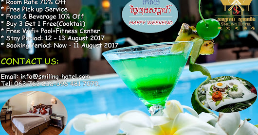 WELCOME TO SMILING HOTEL HAPPY WEEKEND SPECIAL OFFER