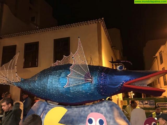 Santa Cruz de La Palma celebró ayer el Entierro de la Sardina más inclusivo con la Gala Transfordrag 2019