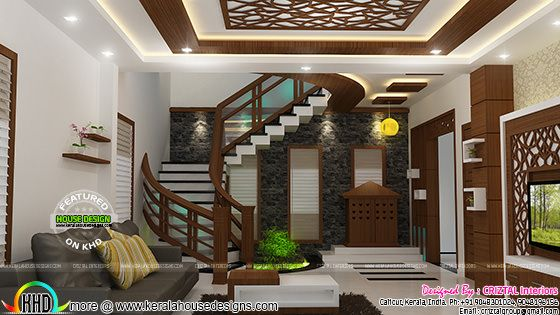 Hall interior Kerala
