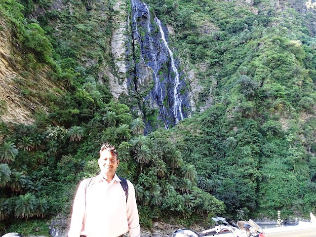 Beas River Waterfall