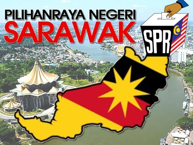 pilihan raya sarawak, prn 11 sarawak, logo prn sarawak, menteri besar baru sarawak