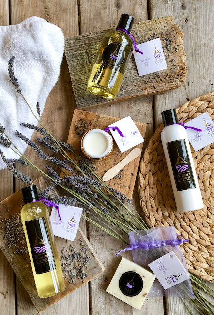 Lavender Skin Care Products handmade by Pelindaba Lavender