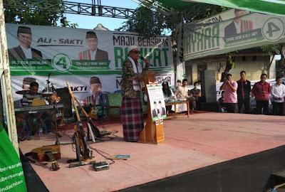 Ali BD Siap Bangun Jalan Tol dan Hidupkan Kesenian di NTB