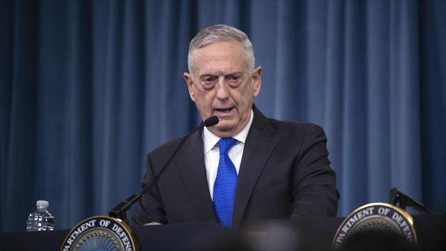 Mattis: EEUU seguirá apoyando la agresión de Arabia Saudí a Yemen