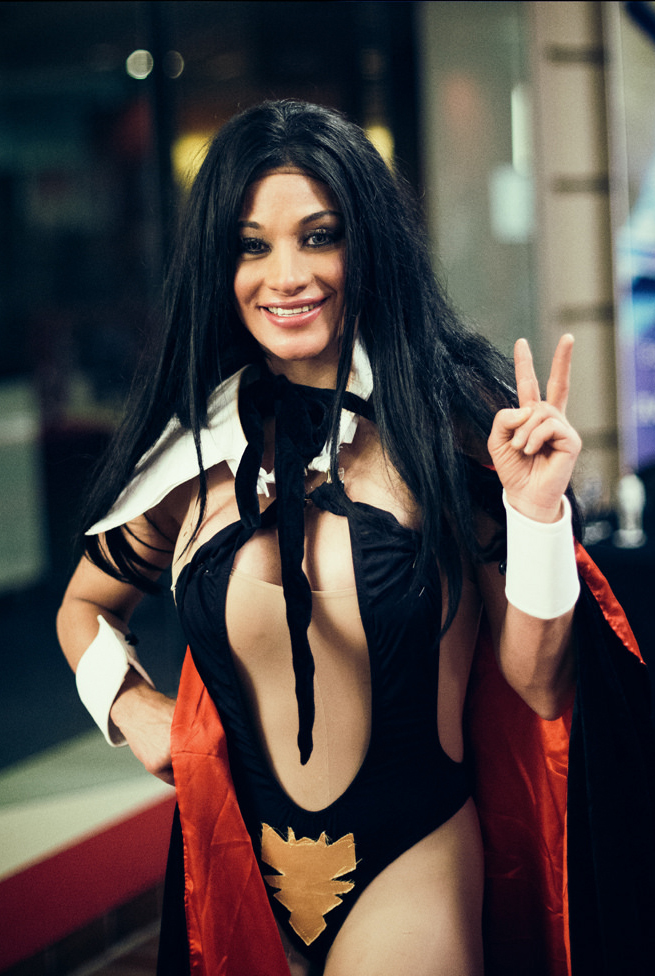 14. Atlit Bela Diri Seksi - Elektra Knight payudara besar