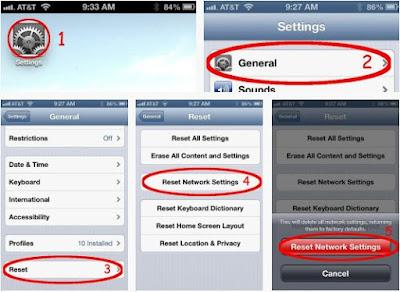 Khắc phục lỗi 3G trên iPhone 5 lock nhật