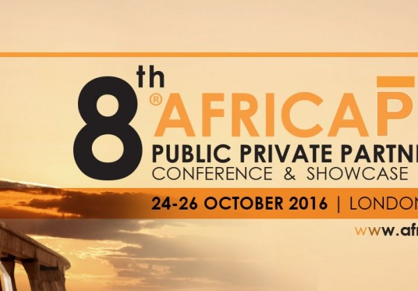 The 8th edition of Africa PPP will once again showcase investment opportunities and planned infrastructure development projects from across Africa   LONDON, United Kingdom, October 6, 2016/ -- Since its inception in 2009, the Africa Public Private Partnership Conference and Showcase (Africa PPP) (http://APO.af/Z1oCl5) has become the definite platform for discussing, informing and instigating the successful implementation of PPPs across the continent.